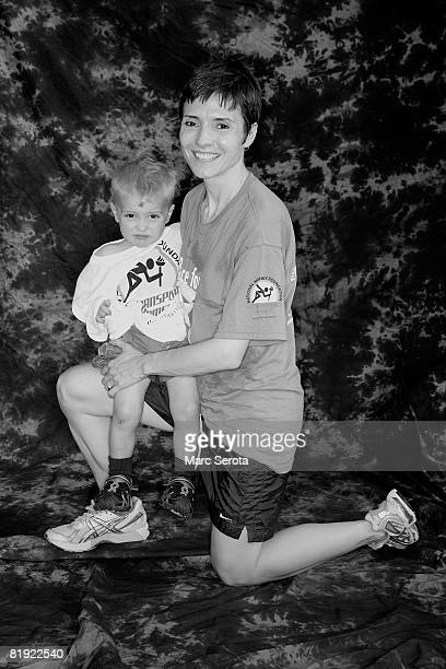 National Fox News anchor Catherine Herridge who donated part of her liver to her son Peter when he was an infant poses for a portrait on July 13 2008...