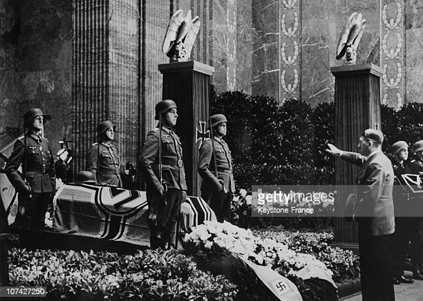 National Funeral Of General Colonel Hube In BerlinGermany On May 2Nd 1944