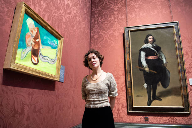 GBR: National Gallery Reopening - Press View