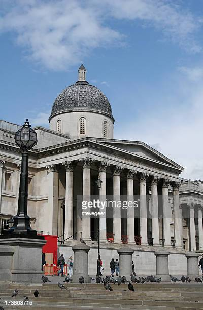 national gallery in london - national gallery london stock pictures, royalty-free photos & images