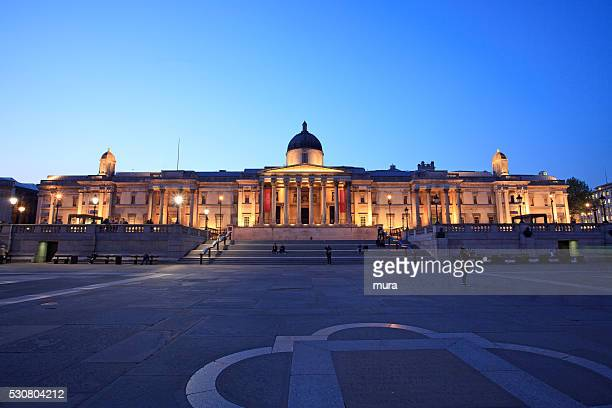national gallery, london - national gallery london stock pictures, royalty-free photos & images
