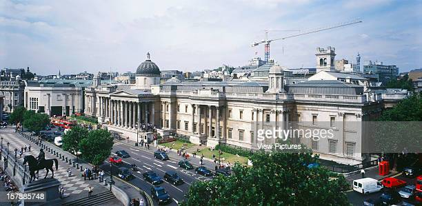 National Gallery, London, United Kingdom, Architect Venturi, Scott Brown And Assoc. , National Gallery Exterior.