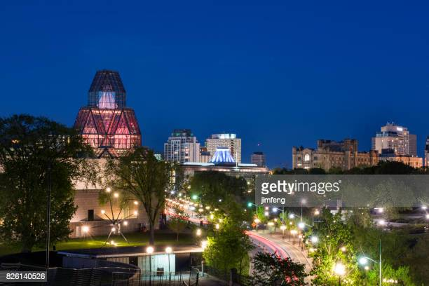 national gallery of canada - gatineau stock photos and pictures