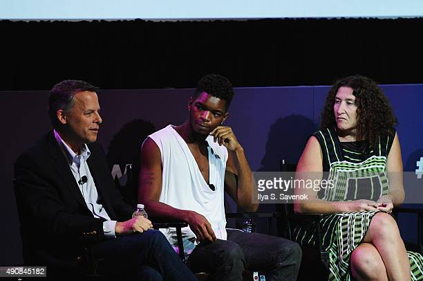 National Geographic SVP Global Experiences Events Peter van Roden Creator Social Influencer Kingsley Russell and VP of Yahoo Marketing Partnerships...
