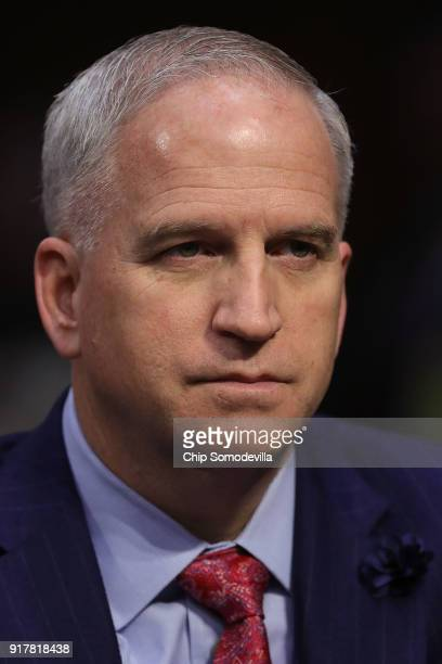 National Geospatial Intelligence Agency Director Robert Cardillo testifies before the Senate Intelligence Committee in the Hart Senate Office...