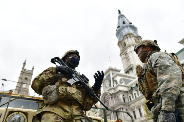 PA: National Guard Patrols In Philadelphia After Police Killing Of Walter Wallace, Jr. Sparks Nightly Protests
