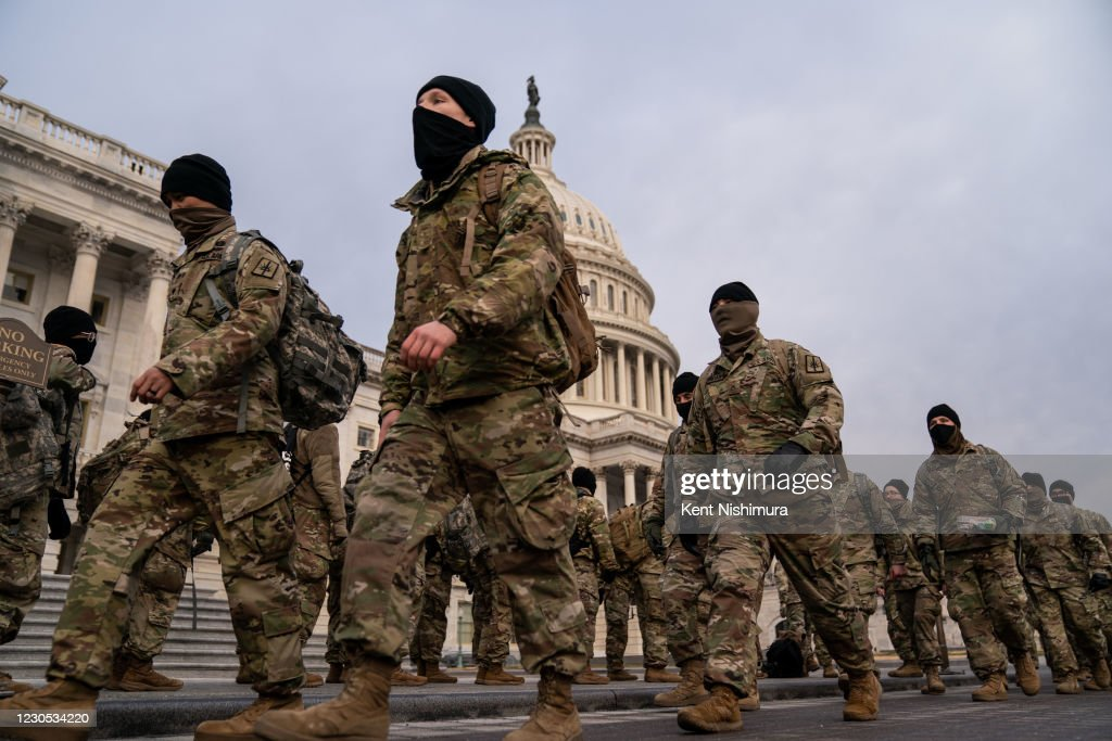 US Capitol Building Riot Aftermath : News Photo