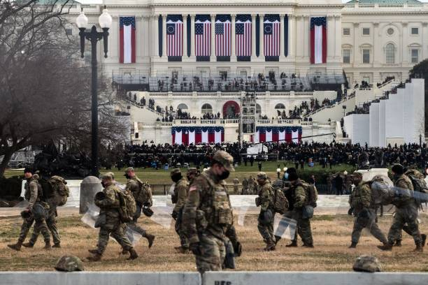 DC: Heavily Guarded Nation's Capital Hosts Presidential Inauguration