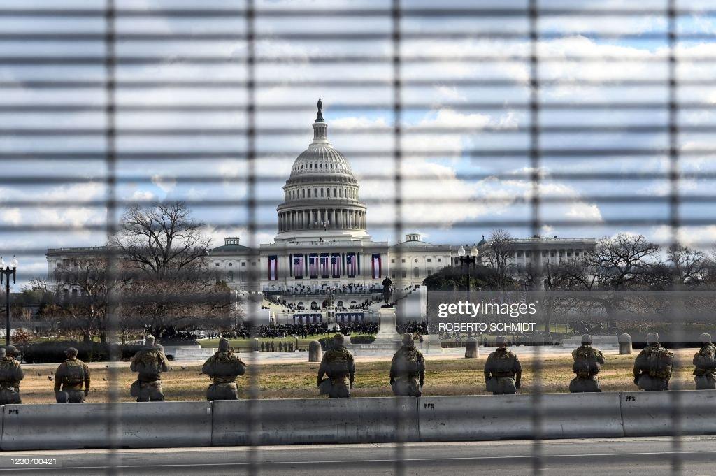 US-POLITICS-INAUGURATION : ニュース写真