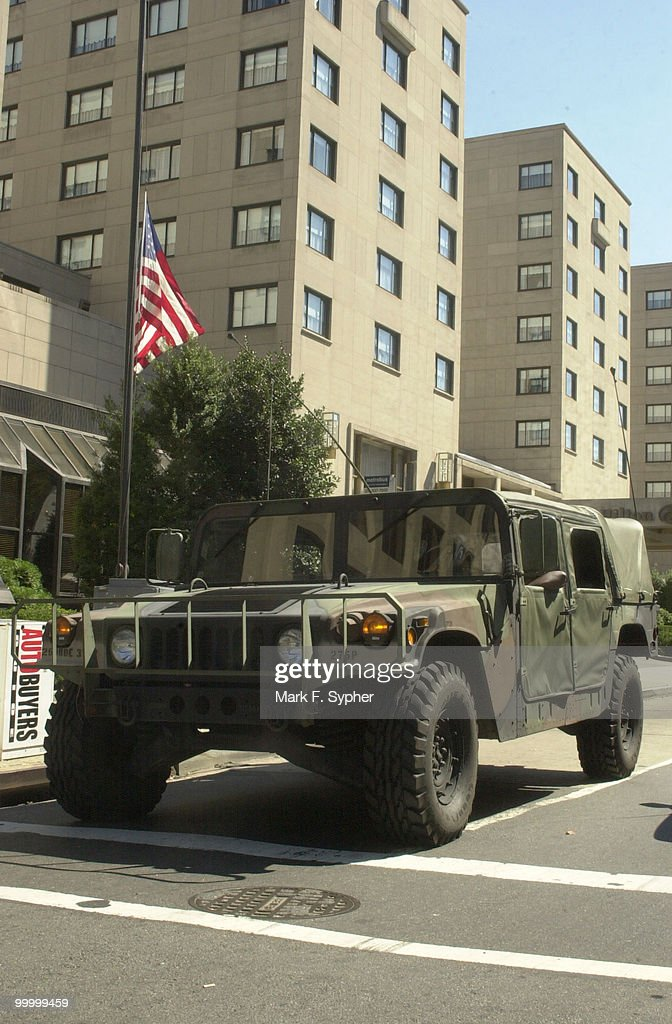 D.C. National Guard was deployed to many street corners in the business district Wednesday, following Tuesdays attacks.