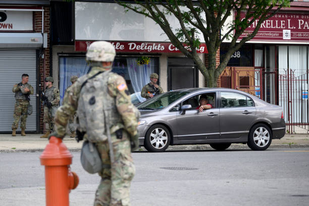 PA: National Guard Guards Businesses and Patrols Neighborhoods in Philadelphia