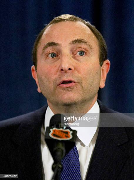 National Hockey League Commissioner Gary Bettman announces the cancellation of the 200506 NHL season due to negotiation failure between NHL and...