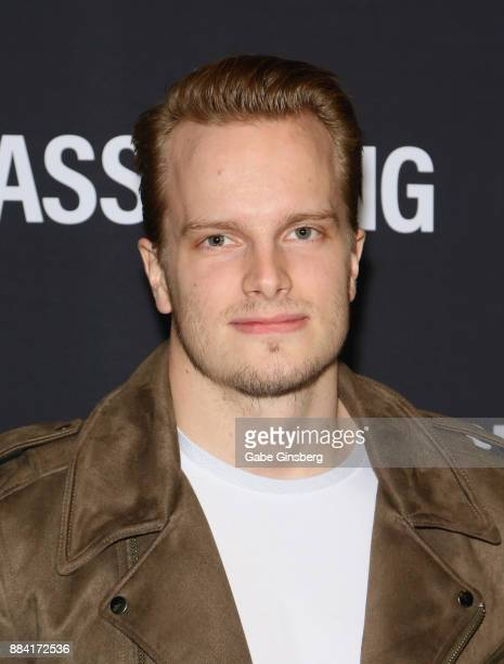 National Hockey League player Oscar Dansk attends the Vegas Strong Benefit Concert at TMobile Arena to support victims of the October 1 tragedy on...