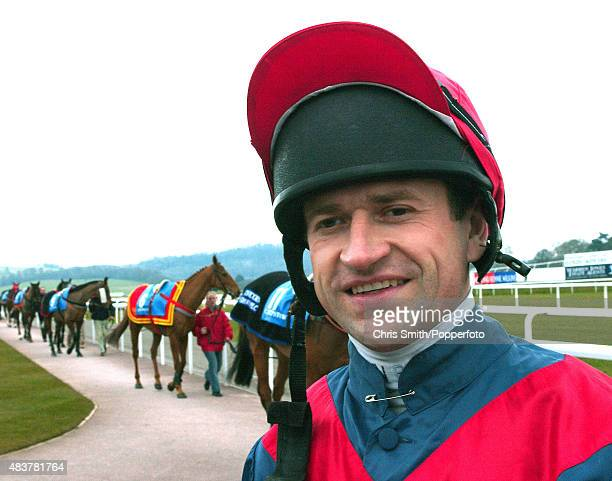 National Hunt Jockey Andrew Thornton 10th March 2004