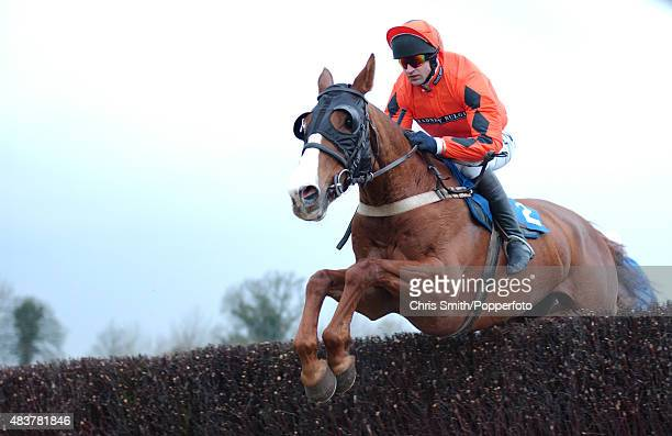 National Hunt jockey Andrew Thornton in action 10th March 2004
