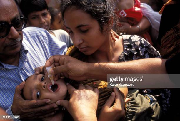 National Immunization Day in Bangladesh for Polio