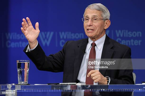 National Institute of Allergy and Infectious Director Anthony Fauci participates in a discussion on 'Zika in the US Can We Manage the Risk' at the...