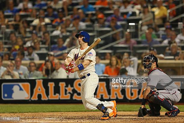 National League AllStar David Wright of the New York Mets bats against the American League AllStars during the 84th MLB AllStar Game on July 16 2013...