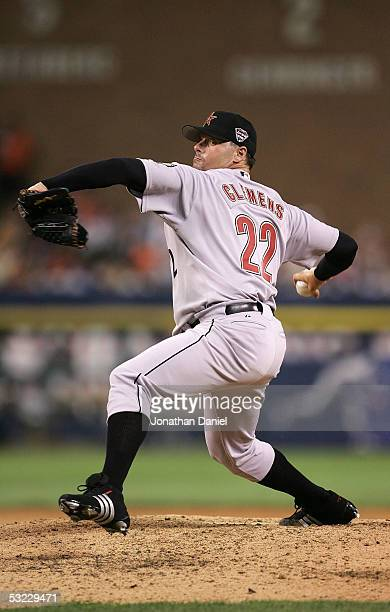 National League AllStar pitcher Roger Clemens of the Houston Astros delivers a pitch during the fifth inning of the 76th Major League Baseball...