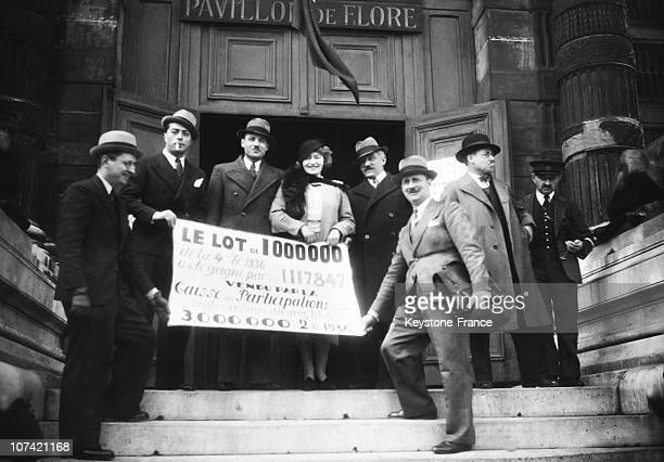 National Lottery Winners In Flora Pavilion On April 24Th 1936
