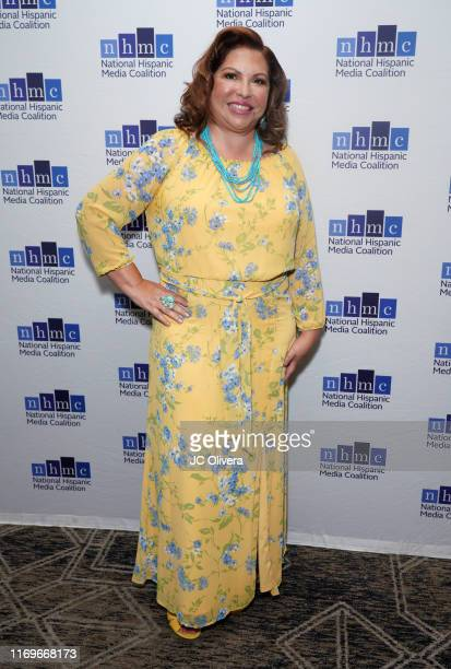 National Media Coalition President and CEO elect Brenda Victoria Castillo attends the NHMC's 17th Annual Los Angeles Impact Awards luncheon at Hilton...