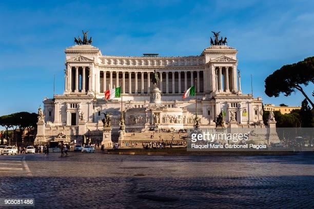 National Monument to Victor Emmanuel II in Piazza Venezia.