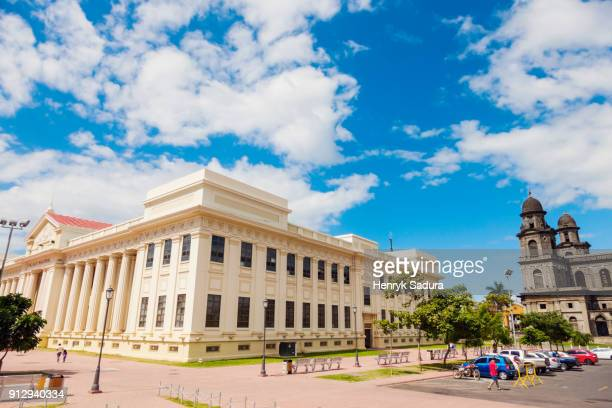 national museum of nicaragua in managua - managua stock pictures, royalty-free photos & images