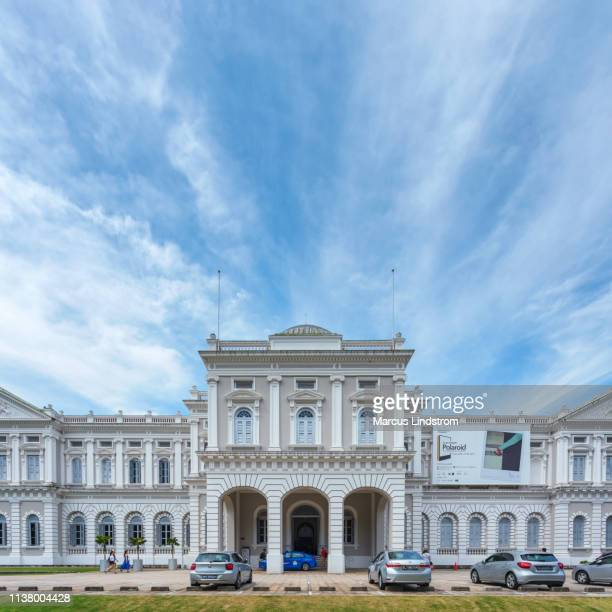 national museum of singapore - history museum stock pictures, royalty-free photos & images