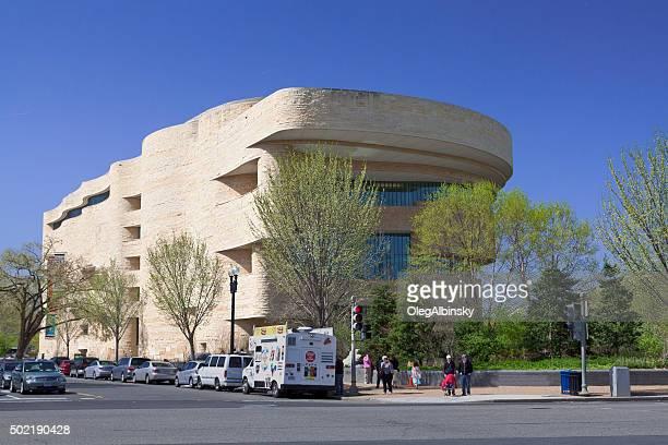 国立アメリカインディアン博物館、Washington DC ,USA .