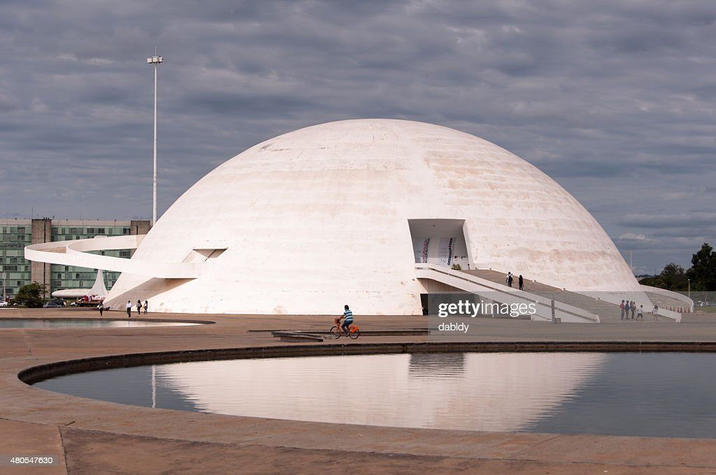 Nationalmuseum der Republik Brasilien : Stock-Foto