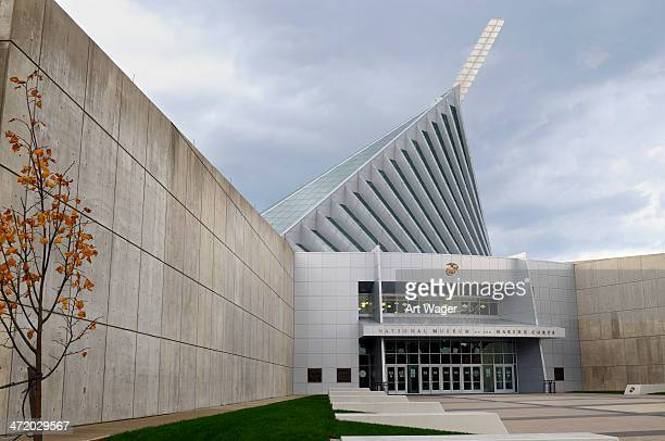 national museum of the marine corps - quantico stock photos and pictures