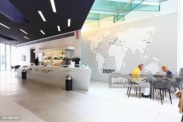 MAXXI, National museum of XXI Century Arts by Zaha Hadid.