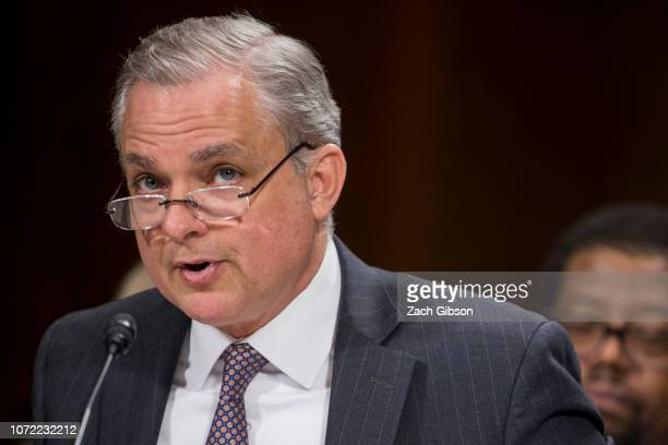 National Opioids Coordination Associate Director Kemp Chester testifies during a Senate Judiciary Subcommittee on Border Security and Immigration...
