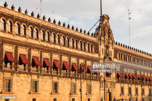 national palace in mexico city - national palace mexico city stock pictures, royalty-free photos & images