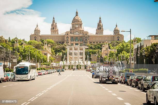palácio nacional de barcelona - quarta feira - fotografias e filmes do acervo