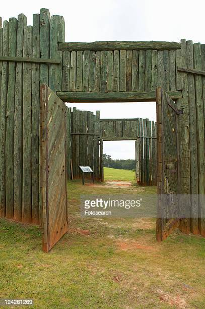 national park andersonville or camp sumter, a national historic site in georgia - andersonville prison stock pictures, royalty-free photos & images