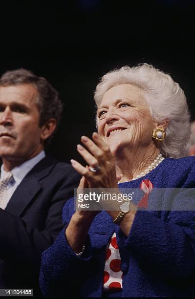National Party Conventions 1992 Republican National Convention Pictured Campaign advisor to his father President George Bush/future US President...