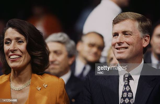 National Party Conventions 1992 Republican National Convention Pictured Wife of the VIce President Marilyn Quayle Incumbent Vice President Dan Quayle...