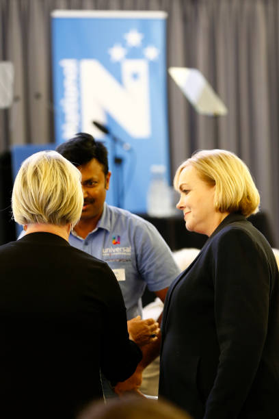 NZL: National Leader Judith Collins Give State Of The Nation Speech