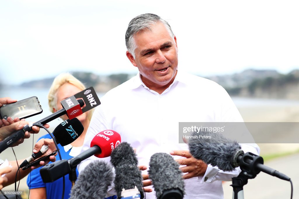 National Party MP Mark Mitchell Makes Leadership Announcement