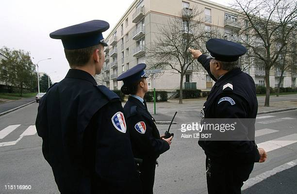 National police assisted by the Security Assistance force in Saint Herblain France on November 17 1998