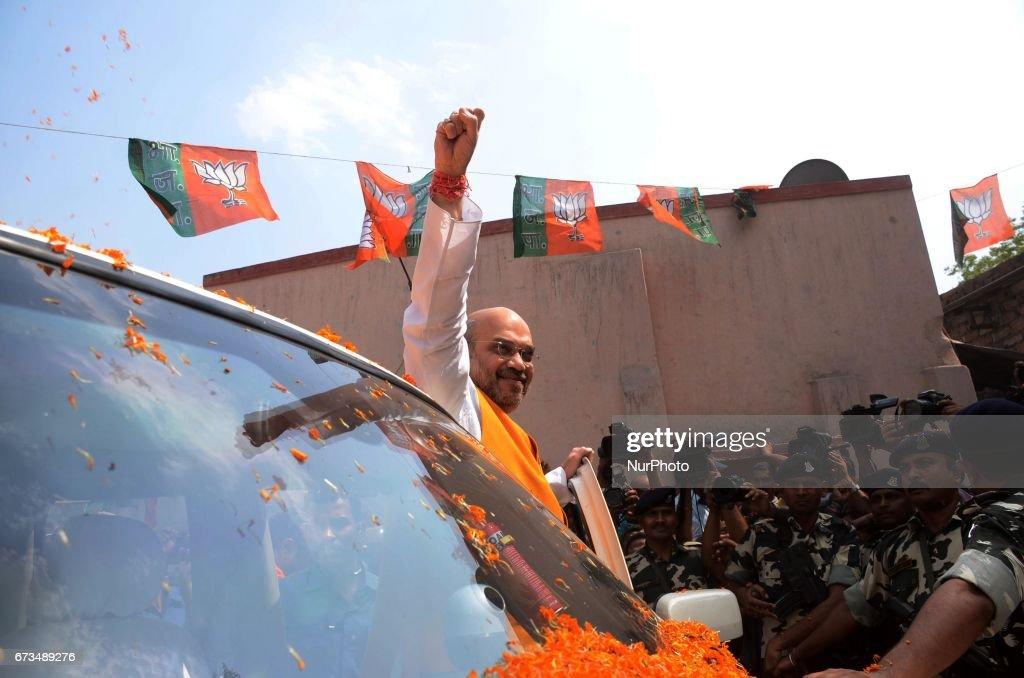 BJP President Amit Shah West Bengal Visit : News Photo