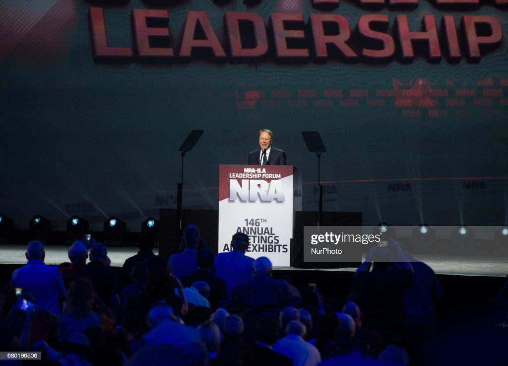 NRA Celebrates Firearms at Annual Meeting In Atlanta : News Photo
