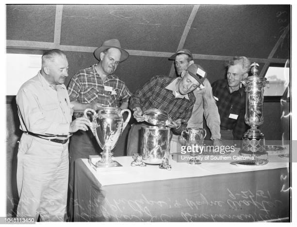 National Rifle Shoot National Rifle Association matches 27 September 1951 DB GingherJC BuchananArt KrauseLN PhillipsWayne AraxterMrs Leone...