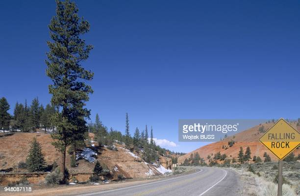 National Road 12 Red Canyon Utah Usa