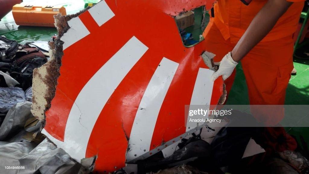 Lion Air JT 610 plane crash in Indonesia : News Photo