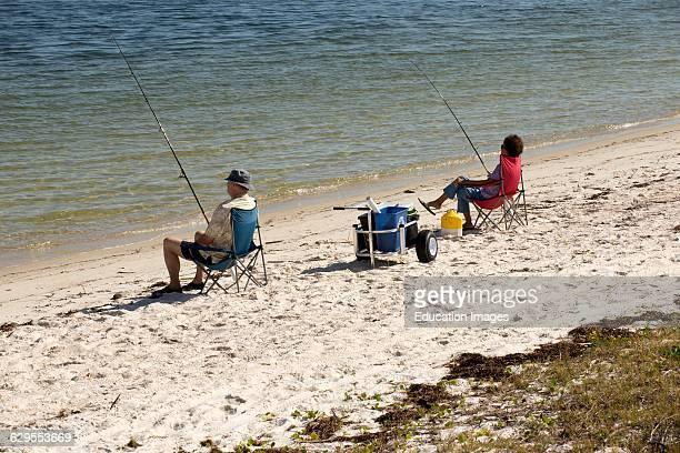 National seashore at Fort Pickens Santa Rosa Island Pensacola Florida USA
