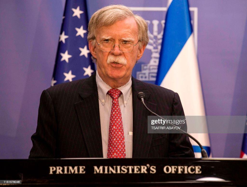 ISRAEL-US-POLITICS-DIPLOMACY-GULF-CRISIS : News Photo