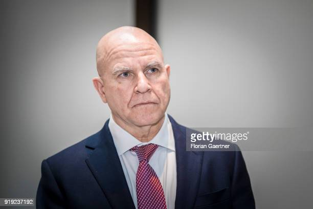 National Security Advisor of the USA Herbert McMaster is pictured during the Munich Security Conference on February 17 2018 in Munich Germany