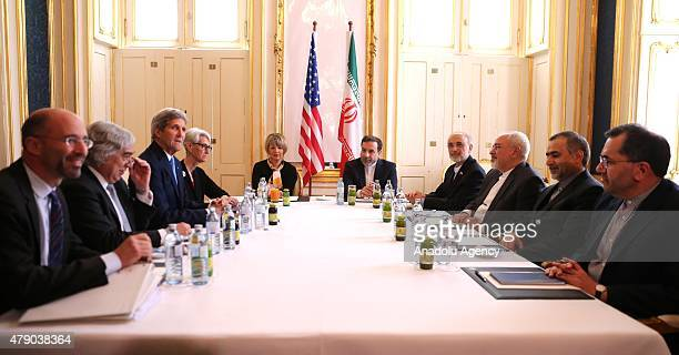 US National Security Council Senior Director for Iran Iraq Syria and the Gulf States Robert Malley US Secretary of Energy Ernest Moniz US Secretary...
